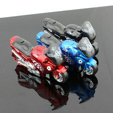 Motorcycle Shaped Refillable Butane Windproof Flame Cigarette Lighter & Torch