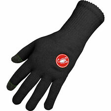 Castelli Prima Cycling, Conductive Touch Technology, Silicon Grip Glove - Black