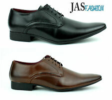New Mens Shoes Fashion Italian Oxford Style Leather Look Size UK 6 7 8 9 10 11