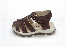 New Infant/Toddler Fisherman Cribs Sandal Size 2 ~ 7 in BROWN