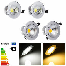 Bright Dimmable COB LED Recessed Ceiling Spot Lamp Fixture Downlight 3W 5W 7W 9W