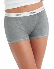 Hanes Women's Boyfriend Boxer Briefs 4pk Asst Colors