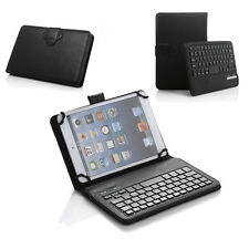 "Stand Case Cover Bluetooth Keyboard For 7-8"" IOS Android Window Tablets PC New"