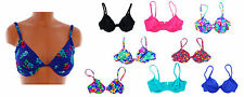 New Le Cove Gabar Womens Bikini Swimsuit Top Underwire Demi (D CUP Available)