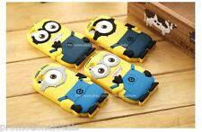 Cute DespicableMe Minion 3D Silicone Back Case Cover For Apple iPhone 5G 5S