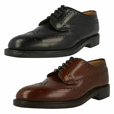 Mens Loake Smart Lace Up Brogue Shoes Braemar