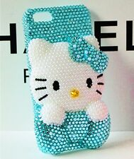 Swarovski Crystal 3D Hello Kitty iPhone 6 Case Cover Protector 6-Plus 5 5S 4 4S