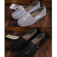 New Womens Slip On Antiskid Flat Loafers Leisure Single Shoes Moccasins