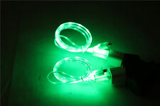3ft LED el light-up  USB charger cable car use FOR apple iphone 6 6 plus 5 5S 5C
