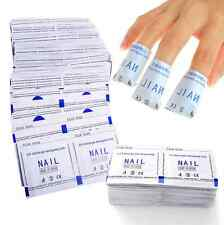 50/100/150/200pcs Remover Wraps For Gel Polish Acetone Pad Foil Nail Art Cleaner