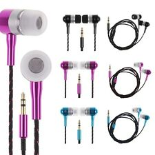 3.5mm Super Bass Stereo In-Ear Headphone Earphone Headset For PC MP3 4 CellPhone