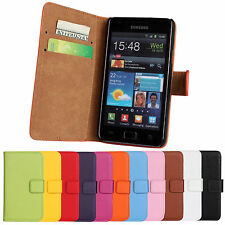 Leather Wallet Phone Case Cover Protector Skin For Samsung Galaxy S2 i9100