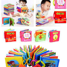 Intelligence development Cloth Cognize Book Educational Toy for Kid Baby CATGS