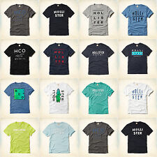 Nwt Hollister By Abercrombie Mens T Shirt Tee Size S,M,L,XL Brand New 2015