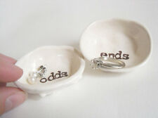 odds and ends HANDMADE RING DISH earring dish home decor jewelry organizer