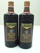 Starbucks RASPBERRY Flavoured Syrup 1L Coffee Soda Mocha Tea Flavoring