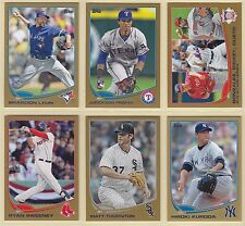 2013 , Topps , Gold , Pick From Drop Down List