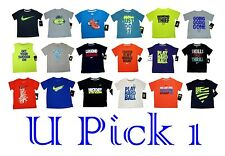 LITTLE BOYS NIKE T-SHIRT TEE CUTE SAYING SPORTS TOP SHIRT CHILDRENS CLOTHES KIDS