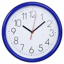 """New 10"""" Modern Simple Home Decor Round Non-Ticking Silent Wall Clock Large Clock"""