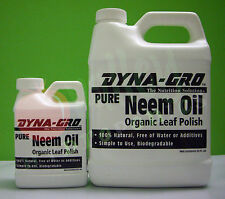 Dyna-Gro PURE NEEM OIL 100% Natural Leaf Polish Plant Care Pest Insect Control