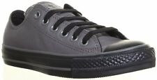 CONVERSE Chuck Taylor Unisex All Star Leather Lace Up Sneakers Low - Grey 132099