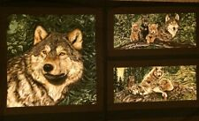 Wolf Song Cotton Fabric Collection by Exclusively Quilters!