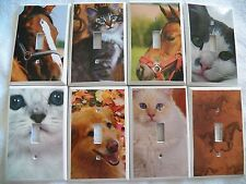 Switchplate Covers - ANIMALS - Choose Your Design - LIGHT SWITCH COVER