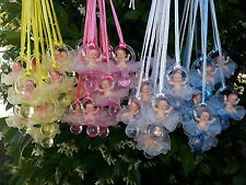 Pacifier Necklaces With Plastic Baby Shower Game Favors Decorations U-Pick Color
