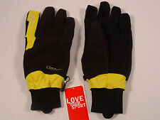 New Reusch Ski Nordic Cross Country Gloves Pole 4006102 INV Yellow/Black L & XL