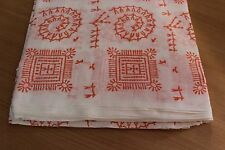 hand block hand print Iket Print 100% cotton fabric African Design fabric Yards