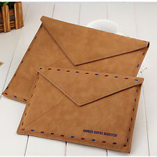 New Fashion Desigh Pu Leather Envelope Case Cover for iPad Aire/Air 2/Mini1/2/3