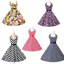 2015 Plus Size Vintage Swing 1950s 1960s Housewife Retro Pinup Rockabilly Dress