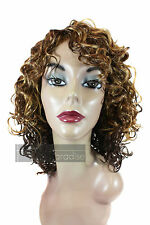 Synthetic Medium Length Spiral Curl Curly Oprah Style Bina Wig