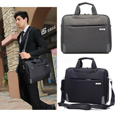 Men's Nylon Waterproof Handbag Shoulder Messenger Bag 14L Laptop Bag Briefcase