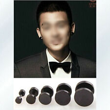 2015 Hot sale Round Barbell Stainless Steel Men's Earring Punk Gothic Ear Studs