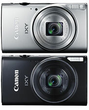 New!! Canon Digital Camera IXY640 Silver or Black 12x Optical Zoom Japan Import