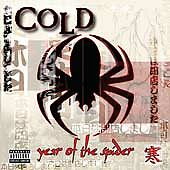 Year of the Spider [PA] [Limited] by Cold (CD, May-2003, RARE!!!