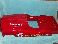 MURRAY STYLE DIP SIDE FIRE TRUCK PEDAL CAR BODY