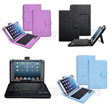 "Portable Detachable Wireless Bluetooth Keyboard Fold Case For 7""-10.1"" Tablet PC"