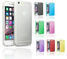 Ultra Thin Soft Silicone Gel Cover Rubber Case For Apple iPhone 6 & 6 plus