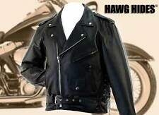 Hawg Hides solid leather jacket