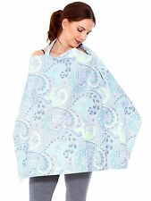 Udder Cover Baby Infant Breastfeeding Nursing Cover Cotton Blanket 6 Choices