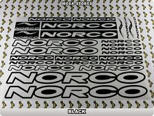 NORCO Stickers Decals Bicycles Bikes Cycles Frames Forks Mountain MTB BMX 55T