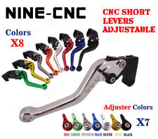 Short Adjustable Brake Clutch Levers For 2004-2007 Triumph ROCKET III 3 Cruiser