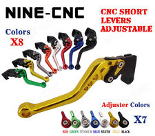 CNC Short Adjustable Brake Clutch Levers Buell Firebolt XB12R/XB12Ss/Scg 2009