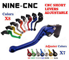 CNC Racing Short Brake Clutch Levers For BMW R1200GS 2004-2012 R1200ST 2005-2008