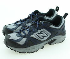 New Men's New Balance MT481NV2 Trail Running Shoes Navy Black Extra Wide Sizes