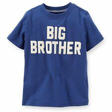 NEW NWT Carter's BIG BROTHER top t shirt Blue Size 4T 5 kids