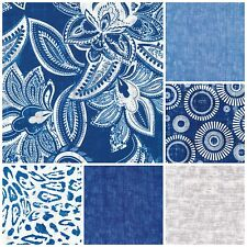 NEW BELLA CASA Collection by RO GREGG for Fabri-Quilt Fabric by the Yard DENIM