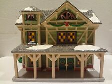 D56 - SNOW VILLAGE - STICK STYLE HOUSE - IN ORG BOX AND STYROFOAM